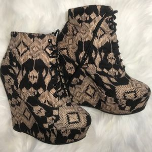 Charlotte Russe Shoes - Charlotte Russe Boho Wedges